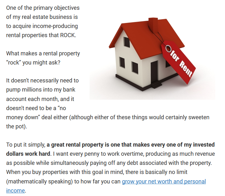 Rental ,property beginners guide Dc Fawcett Reviews